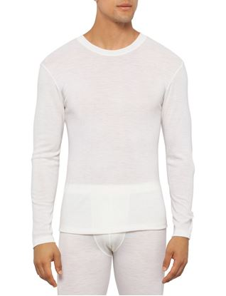 Pure Merino Wool Underwear Mens Long Sleeve