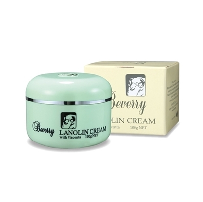 Beverry Lanolin Cream With Placenta 100g