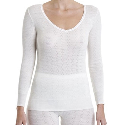 Pure Merino Wool Underwear Womens Long Sleeve