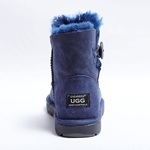 Shearer's Ugg Mini Single Button Blue