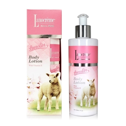 Lanocreme Body Lotion plus Lanolin and Vitamin E 230ml