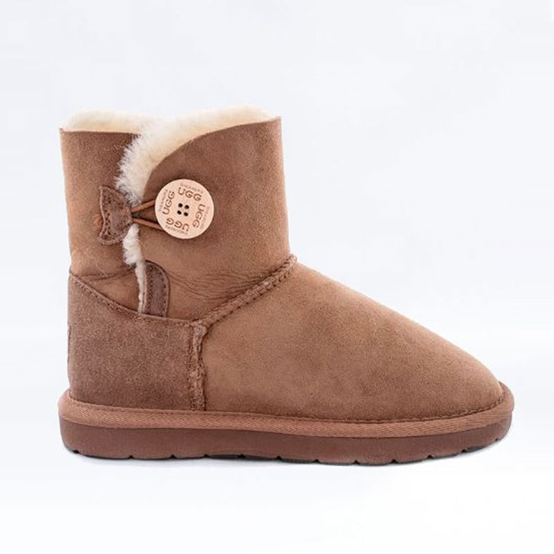 Shearer's Ugg Mini Single Button Chestnut