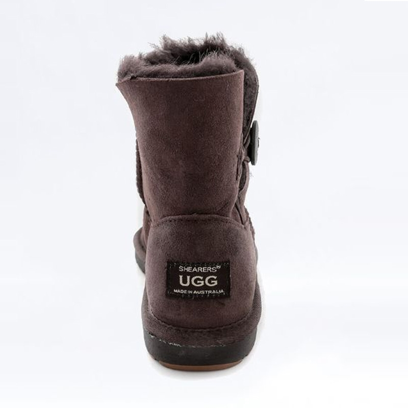 Shearer's Ugg Mini Single Button Chocolate