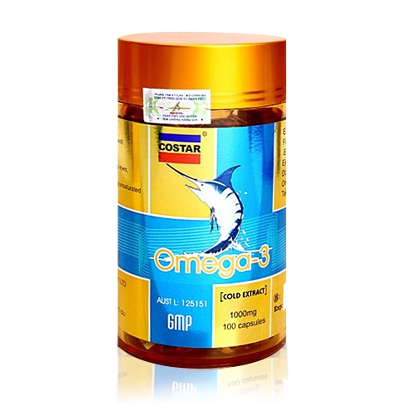 Costar Omega-3 Fish Oil 1000mg