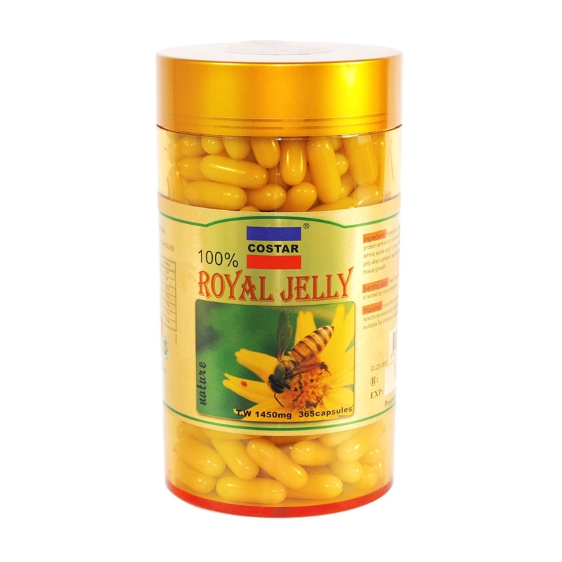 Costar Royal Jelly 1450mg 365 Capsules