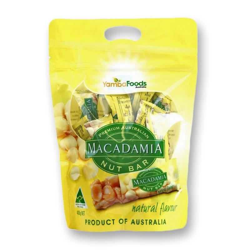 Yamba's Premium Macadamia Nut Bars 400g